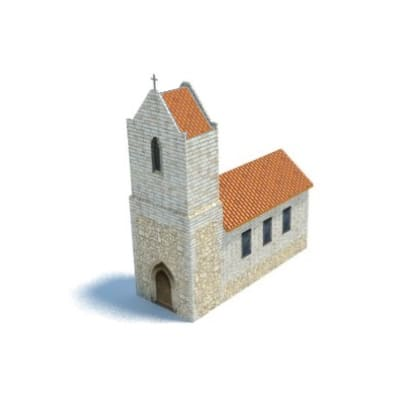 church and steeple plans