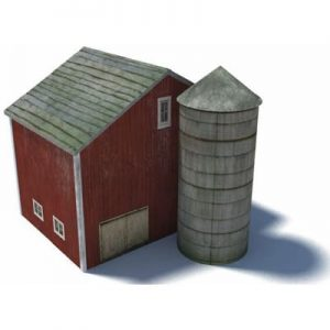 red us farm barn silo ho buildings