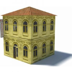 restaurant - buildings for ho scalescenes