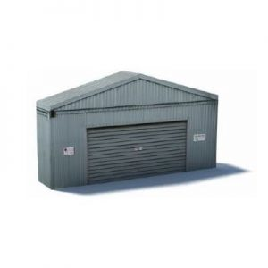 industrial gray garage railway backdrop models