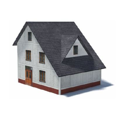 3 level paper house kits