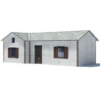 printable small detached ho railroad home