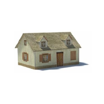 bungalow plans paper models