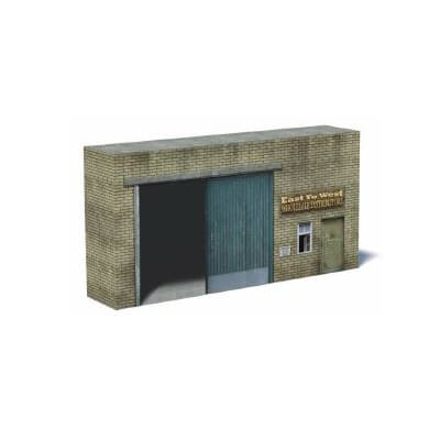 small railway warehouse backdrop scene ho scale