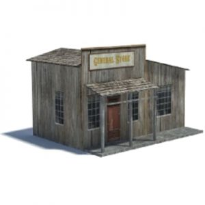 old west models - general store download kit