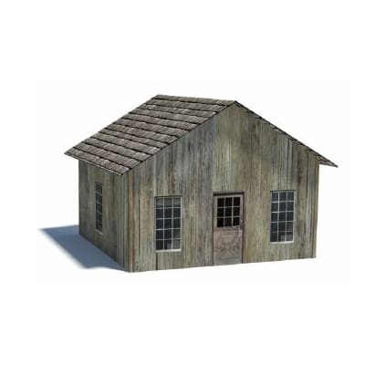 mining town paper models to make - house