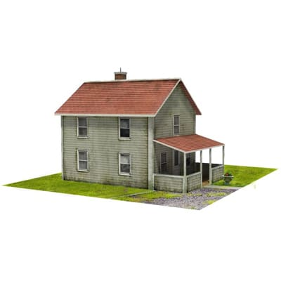download miniature paper houses