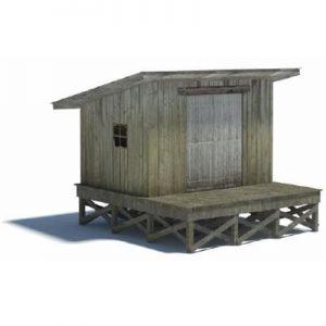 railway shed OO gauge, HO scale, N scale