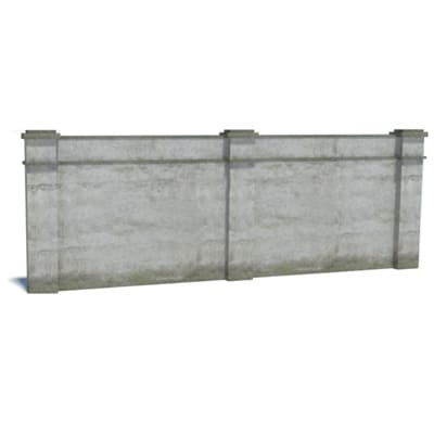 make gray brick walls for ho railroads