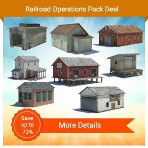 model railroad rail yard structures ho buildings