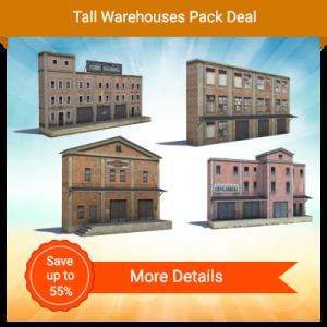 Tall Warehouses