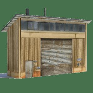 rail yard structure oo gauge ho scale