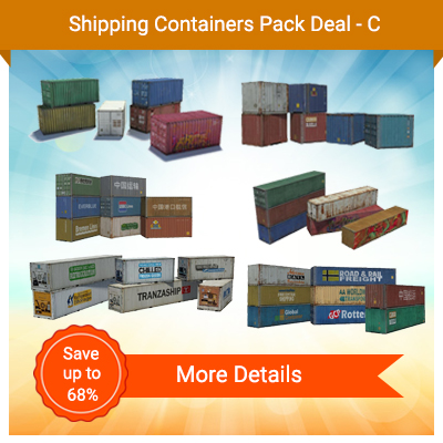 Shipping Containers Pack Deal-C