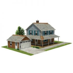 image about Free Printable Ho Scale Buildings referred to as Household - Style Structures