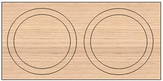 helix track circles