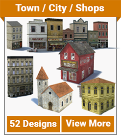 town city shop updated