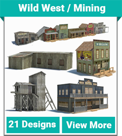 Model Buildings | Download, Print, Build