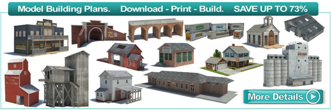 This is a graphic of Free Printable Model Buildings regarding 172 paper