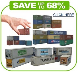download printable railroad shipping container scale models