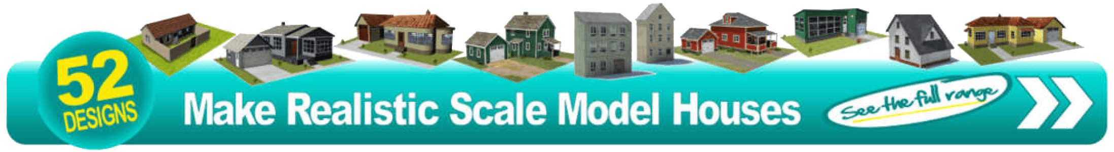 printable scale models residential homes