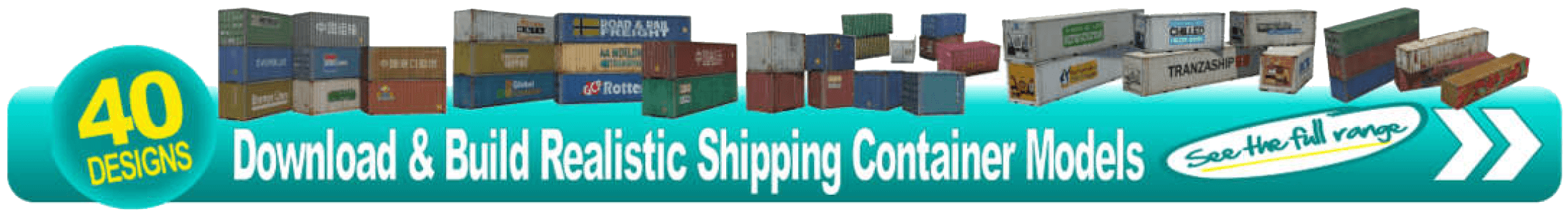 printable plans shipping container scale railroad models