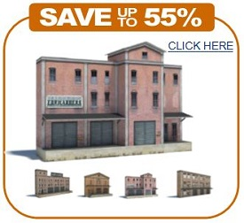 printable plans scale model railroad warehouses