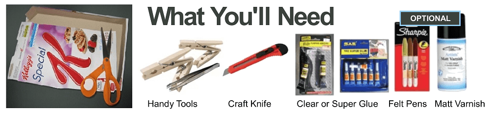 tools needed to build scale model houses