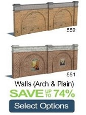 walls construct cardboard miniatures