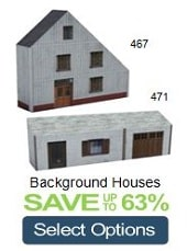 background model railroad houses