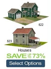 house plans n scale trains