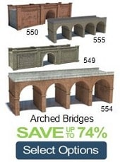 arched bridges oo gauge railways