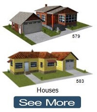 brick house scale models