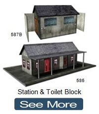 model train station toilet block restrooms