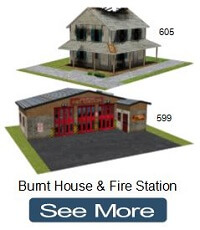 fire station house model