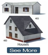 miniature scale houses plans