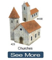 churches make scale models
