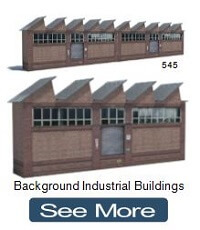 ho n oo scale industrial backdrop structures