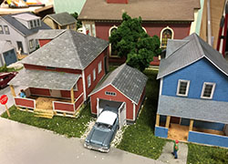 2-model-houses-garage-constructed-ho-scale