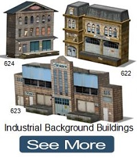 ho n oo railway scale model houses